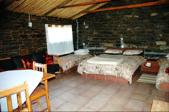 Blesfontein Guest Farm accommodation.