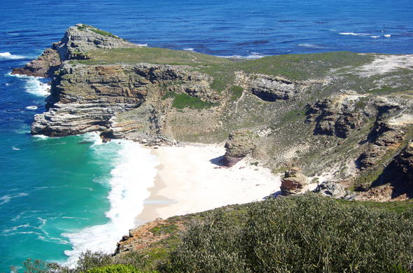 Cape Point is part of Table Mountain National Park.