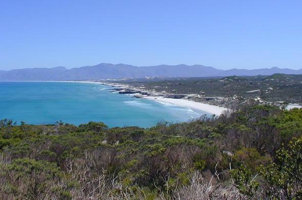 Spectacular views of Grootbos Private Nature Reserve.