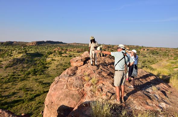 A view of the Mapungubwe National Park area.