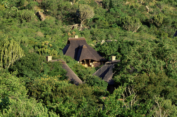 Ntshondwe Resort in Ithala Game Reserve.