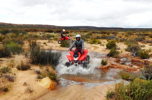 Exciting quad biking adventures await at Kagga Kamma Private Game Reserve.