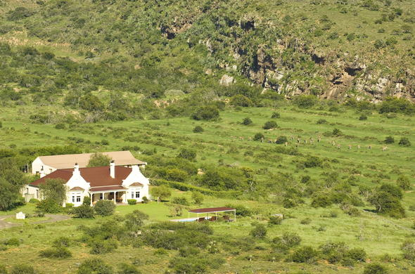 The Homestead at Kwandwe Private Game Reserve.