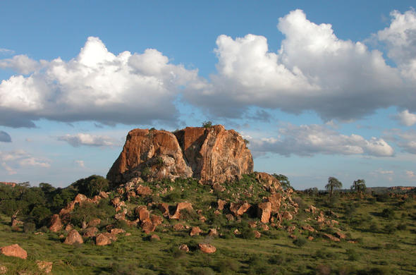 A view of the Mapungubwe World Heritage Site.