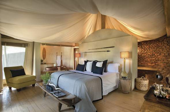 Marataba Safari Lodge offers tented accommodation.