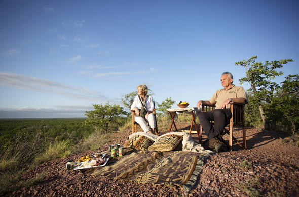 Picnic in Mapungubwe National Park.