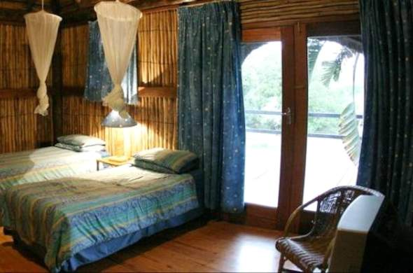 Sodwana Bay Camp offers comfortable accommodation.