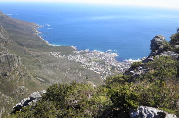 Table Mountain National Park hiking trails.