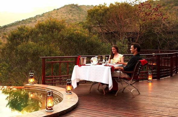Stunning bush views at Thanda Safari Lodge.