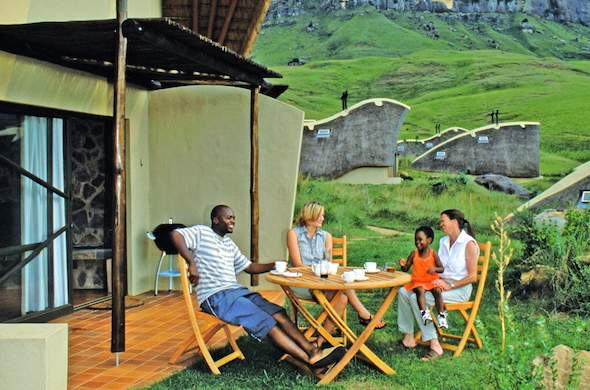 Didima Resort offers family accommodation in chalets.
