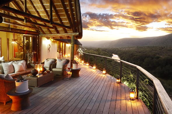Great Fish River Lodge at Kwandwe Private Game Reserve.